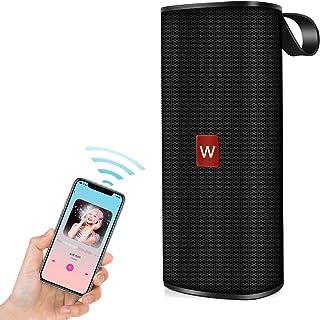 Bluetooth 5.0 スピーカー WISH SUN【超 12時間連続再生】ポータブルスピーカー 臨場感 ワイヤレス アウトドア AUX接続 TFカード USBメモリ 内蔵マイク搭載 ハンズフリー通話 コンパクト USB充電