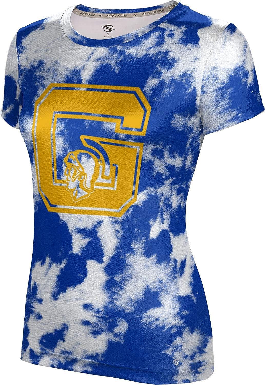 ProSphere Gaithersburg High School Girls' Performance T-Shirt (Grunge)