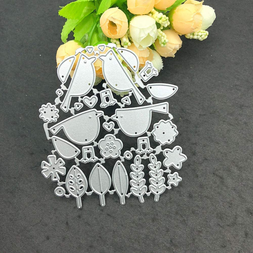 WOCACHI Metal Cutting Max 87% 2021 autumn and winter new OFF Dies Stencils Embossing Scrapbooking Mould