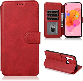 Multifunctional leather case For Huawei Honor 9X Pro Calf Texture Magnetic Buckle Horizontal Flip Leather Case with Holder...
