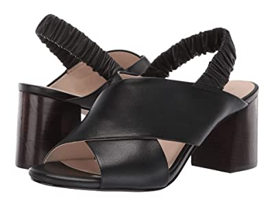 Cole Haan 65 mm Anastasia City Sandal (Black Leather) Women