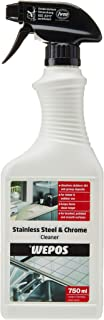 Wepos Stainless Steel and Chrome Cleaner, 750ml