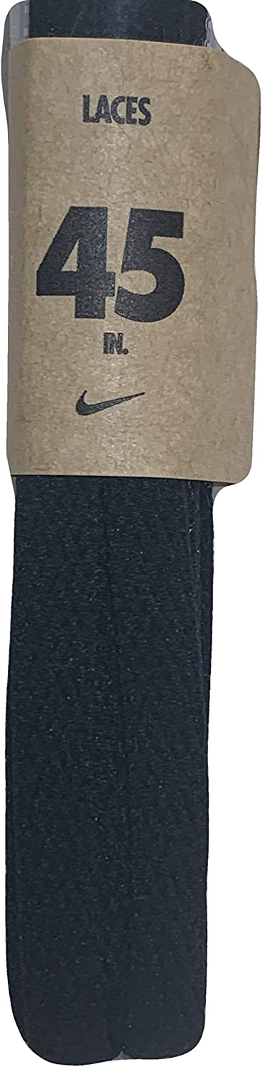 Nike Unisex Replacement Shoelaces Flat String Cords Shoe Laces (Black, 45) : Clothing, Shoes & Jewelry