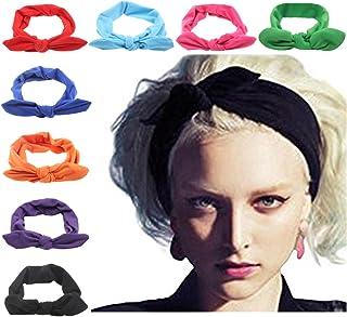 DRESHOW Mujer Diademas para la cabeza Vendas para el cabello Cintas para el pelo Arcos Headwraps lazos de bandas de pelo accesorios.