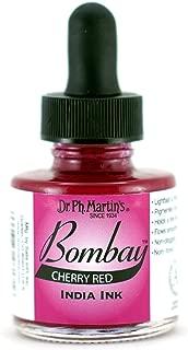 Dr. Ph. Martin's Bombay India Ink, 1.0 oz, Cherry Red