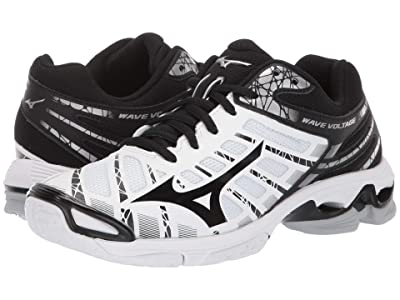 Mizuno Wave Voltage (White/Black) Women