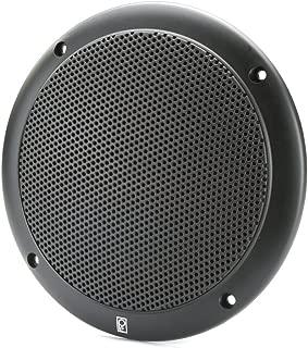 PolyPlanar 5 2-Way Coax-Integral Grill Speaker - (Pair) Black (11223)