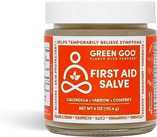 Sponsored Ad - Green Goo Natural Skin Care Salve, First Aid Skin Repair Cream, 4-Ounce Jar