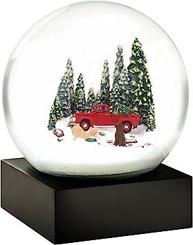 Red Truck Snow Globe