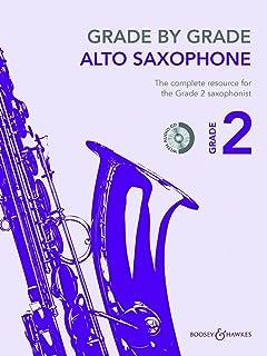 Grade by Grade - Alto Saxophone - Grade 2 - edition with CD - ( BH 12477 )