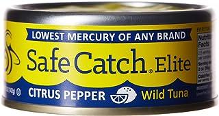 SAFE CATCH Elite Wild Tuna, Citrus Pepper, 142 gm
