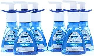 6 Pk. Dawn Ultra Platinum Foam Dishwashing Fresh Rapids Scent 10.1 fl oz 190 Pumps (60.6 Fl Oz 1,140 Pumps Total)