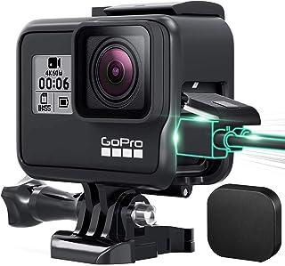【blackbeetle】GoPro HERO 7 Black ケース・GoPro HERO6 ・GoProHERO5 用 保護フレーム ゴープロス7 カバー +シリコンレンズカバー スポーツカメラアクセサリー 【最新改良】