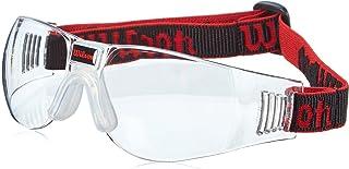 Wilson Unisex Adult ZC1505 Omni Squash Goggles - Black, One Size