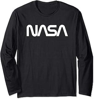 Nasa Logo 1975-1992 Men's T-Shirt Manche Longue