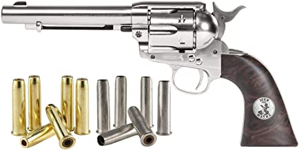 Colt Dual Ammo Duke SAA Peacemaker CO2 Revolver Kit, Nickel air Pistol