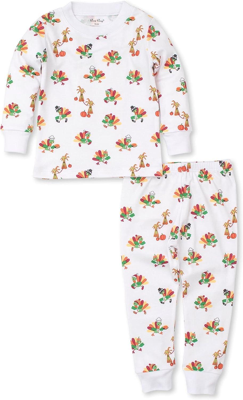 Kissy Kissy Unisex-Baby Infant Pajamas Turkey Trot Pring Long Pajamas Set