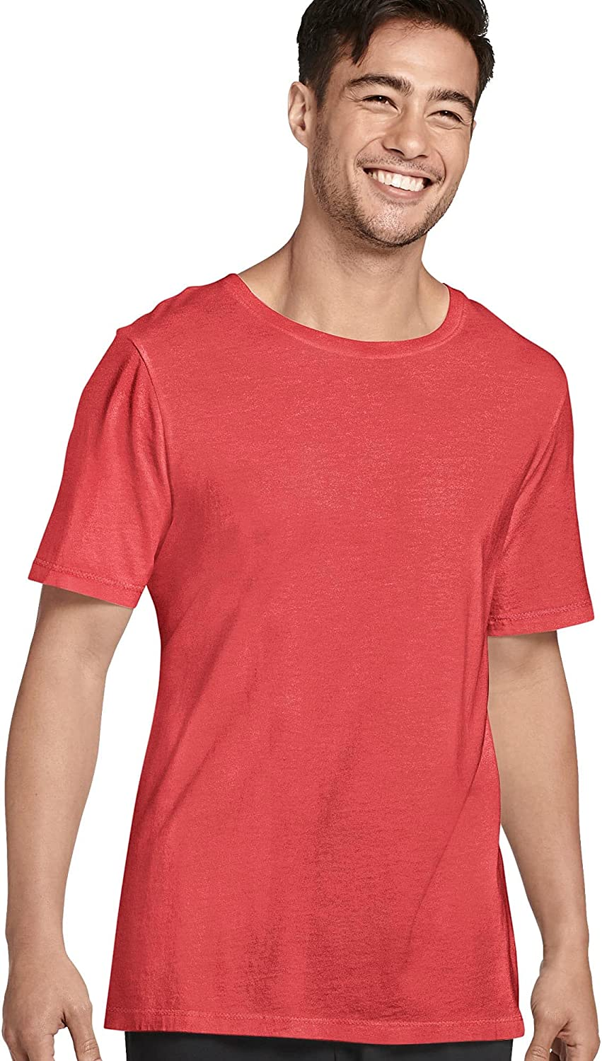 Jockey Men's T-Shirts Made in Max 54% OFF America Cotton Supima Limited time trial price T- Neck Crew