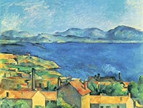 Lais Jigsaw Paul Cézanne - The Bay of Marseille, seen from L'Estaque 100 Pieces