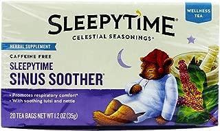 Celestial Seasonings Wellness Tea, Sinus Soother, 20-count (Pack of 6)
