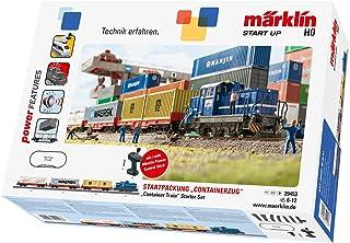 Märklin Start Up 29453 Start Up startpackning container spår H0 modelljärnväg, startuppsättning med tåg, containrvagn och ...