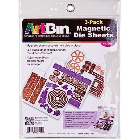 """ArtBin Feuilles magnétiques 3/pkg-7.325""""x9.125"""", pour Une Utilisation en 6978AB"""