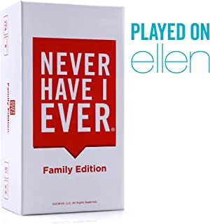 Never Have I Ever | Family Edition Ages 8+ | Fun Party Game for The Whole Family - Laugh About Your Past and Relive Your Funny Life Stories