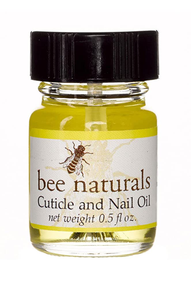 Bee Natural Best Cuticle Oil - Nail Oil Helps All Cracked Nails and Rigid Cuticles - Perfect Vitamin E Enriched Treatment for Moisture, Softness & Health - Anti-Fungal Tea Tree Essential Oils