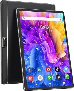 タブレット 10.1インチAndroid 9.0 3G電話タブレットと2.4GWi-Fiモデル デュアルSimカードRAM2GB/ROM32GB 1280x800 IPS HDディスプレイ デュアルカメラ2MP/5MPクアッドコアプロセッサ 最...