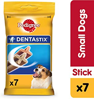 Pedigree DENTASTIX, Dog Treats, Small Breed Dog, 7pcs, 110 gm