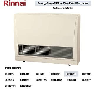 Rinnai EX17CT Direct Vent Wall Furnace, EX17CTN-Natural Gas