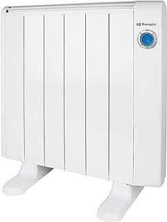 Orbegozo RRE-1000 emisor térmico sin Aceite 6 Elementos 1000W, 1000 W, Blanco