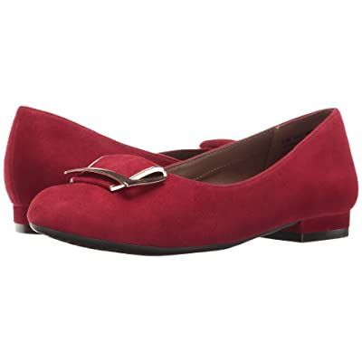 Aerosoles Good Times (Dark Red Suede) Women