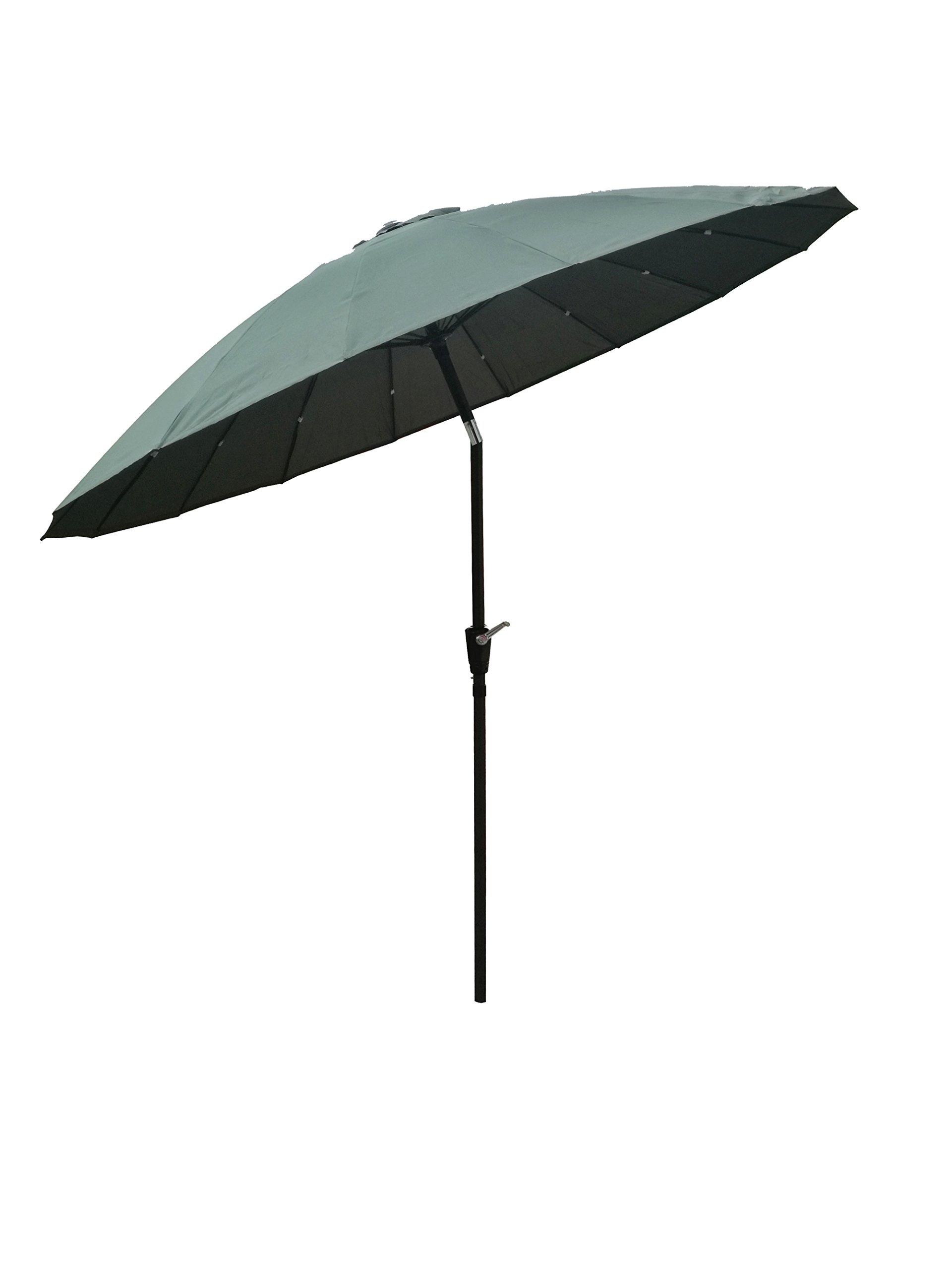 Bespoke Garden Funda para sombrilla de jardín Verde Paraguas con ...