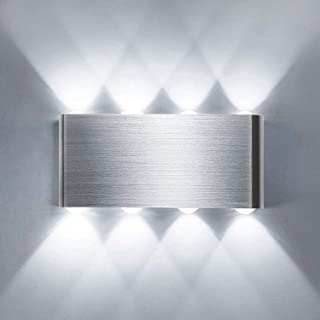 comprar comparacion Lightess Apliques de Pared LED 8W Lámpara de Pared Interior Luz Moderna Luz de Aluminio Iluminación para Escaleras Pasillo...