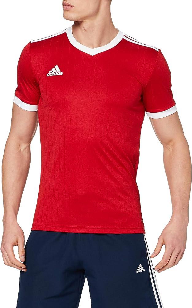 Adidas t-shirt , maglietta per uomo a maniche corte , 100% poliestere CE8935