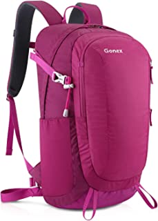 Gonex 30L Small Hiking Backpack, Lightweight Water Repellent Daypack for Travel Camping Outdoor with Rain Cover