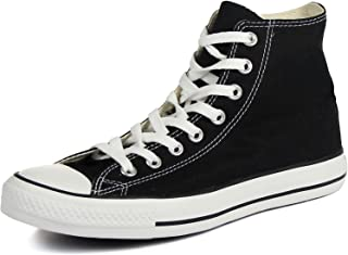 Converse Chuck Taylor All Star High Top Sneaker, Black, 10.5 Women/8.5 Men
