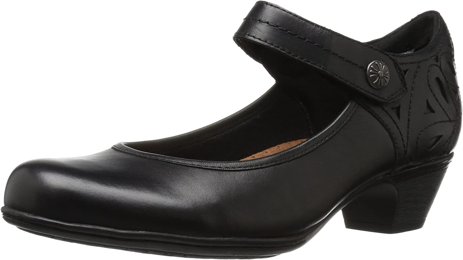 Cobb Hill Womens Abbott Ankle Strap Pump
