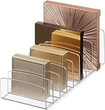 iDesign Clarity Vertical Plastic Palette Organizer for...