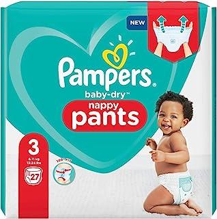 Pampers Baby Dry Pants - Luierbroekjes Maat 3 (6-11Kg) - 27 Stuks