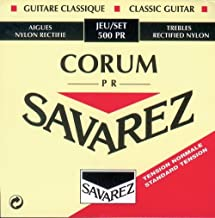 Savarez 656157 azul Cuerdas para Guitarra Cl/ásica New Cristal Classic juego 540CJ Tensi/ón alta