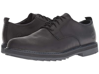 Timberland Squall Canyon Plain Toe Waterproof Oxford (Black Full Grain) Men