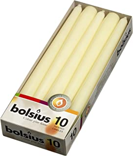 Taper Candles 10 in. (10 Count-Ivory)