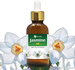 Jasmine (Jasminum Grandiflorum) Essential Oil 100% Pure & Natural Undiluted Uncut Oil   Best for Aromatherapy, Skin & Hair...