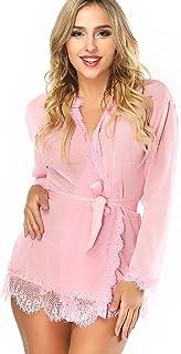 LadyMoon Conjunto Lencería Mujer Erotica Pijama Enteros Mujer Ropa Interior Mujer Sexy Conjuntos Body Encaje Mujer Vestido Sexy Negro Vestidos De Cuero