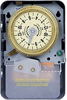 Intermatic T1905 Mechanical Time Switch, Gray