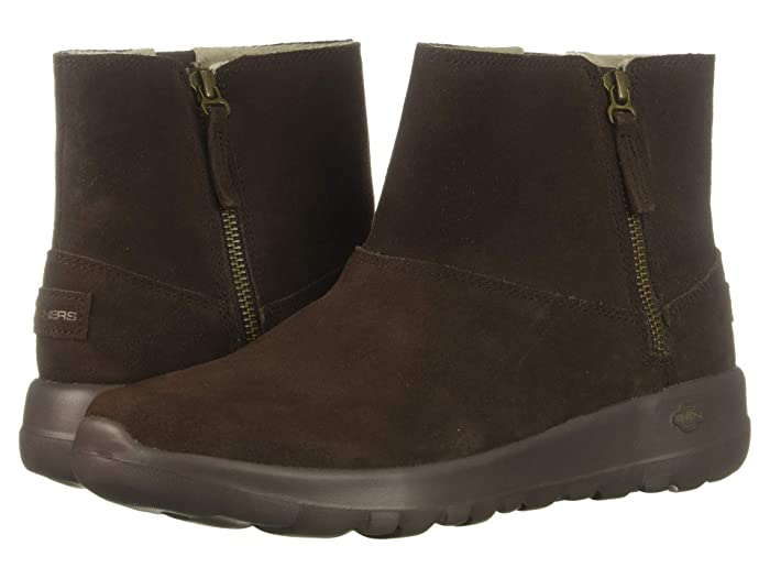 SKECHERS Performance  On-The-Go Joy Goldy (Chocolate) Womens  Boots