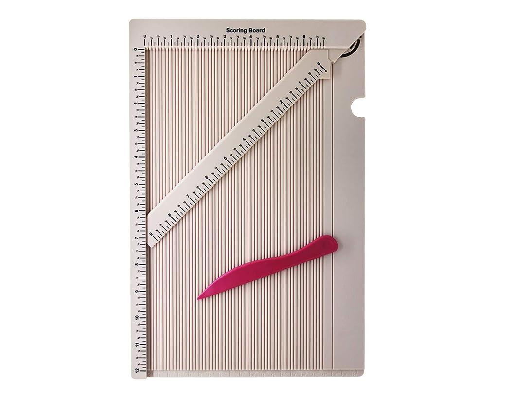 Bira Craft Multi-Purpose Scoing Board with Scoring Knife. Envelope Maker, Craft Sorer, Envelope Tool, Envelope Box Maker.
