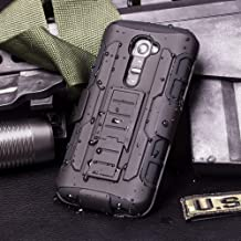 Cocomii Robot Belt Clip Holster LG G2 Mini Case, Slim Thin Matte Kickstand Swivel Belt..